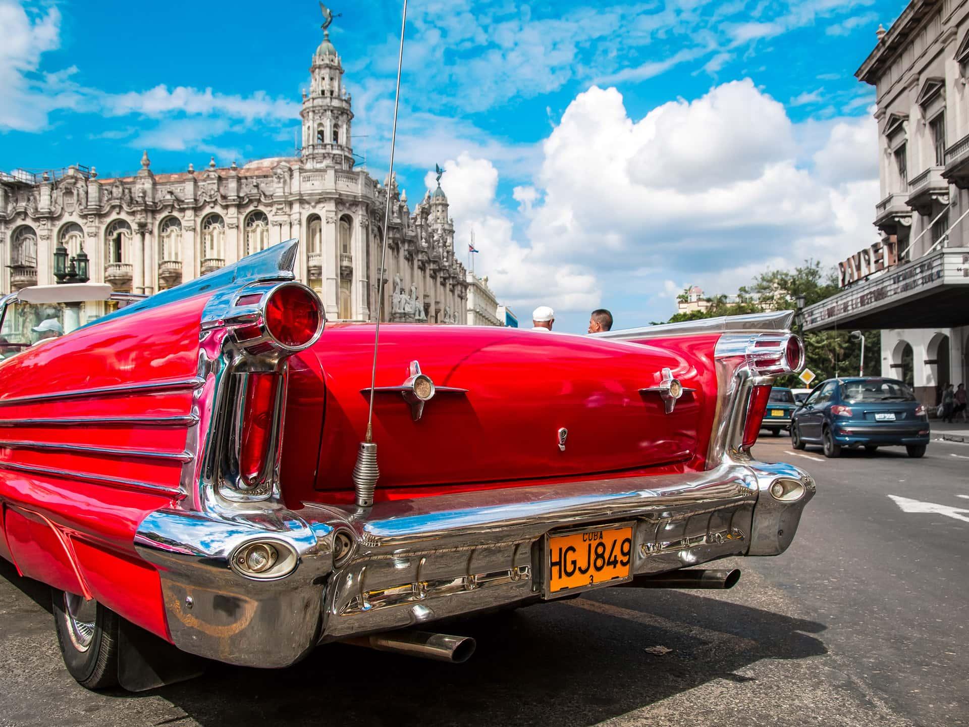 Havana Cuba classic car